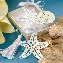 Wedding Favors Book Lovers Collection Starfish Bookmark
