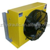 hydraulic oil package cooler with elctrical fan standard cooler heat exchanger