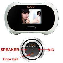 2011 newest digital video door viewer with photo shooting function