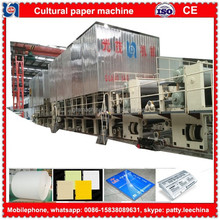 1880mm recycling printing paper jumboo roll making machinery in economical price
