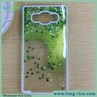 Wholesale Cheap Price 3D Quicksand Liquid Glitter Star Case for Samsung Galaxy Grand Prime