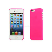 wholesale price Super thin 0.35mm universal smart cell phone pp case for iphone 5/5s
