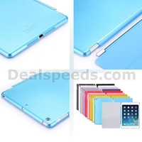 2 In 1 Combo Smart Magnetic Front Cover With Hard PC Back Flip Cover for iPad Air (White)