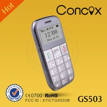 Concox GS503 people tracking system Old men mobile phoneps phone