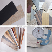 Sound Absorbing Super Click PVC Vinyl Floor Tile with Good Quality
