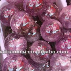 Natural Rock Quartz Crystal Sphere/Amethyst Quartz Crytal Ball wholesale