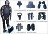 protective shield police anti riot suit