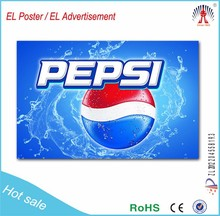 new technology!el / led advertisement backlight panel professional design