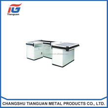 Customized metal check out counter with best quality