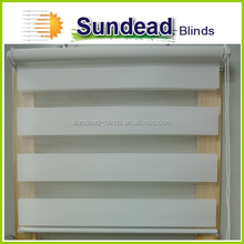 18 mm ,28mm, 38mm Double roller blinds, Zebra roller shade, best selling day night roller blinds