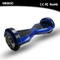 8 inch tire two wheel smart balance electric scooter for adults with bluetooth and sound
