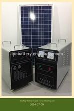 12 v 300 W sistema de energía solar portátil para small homes