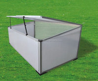 metal material frame green house