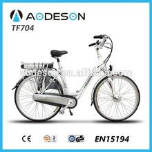 China Apollo Orion Electric Bicycle , City Bike E-BIKE Lithium Battery 36V