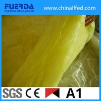 good price sound reduction heat insulation ,fireproof glass wool blanket roll