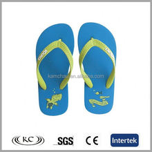 2014 summer trendy bulk wholesale usa blue kids flip flops