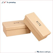 custom cardboard paper square gift box with lids/ kraft paper square lid giftbox/ square lift-off lid gift boxes wholesale