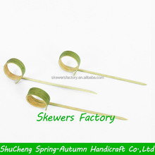 Knotted bamboo stick / Knotted bamboo skewer / Knotted bamboo pick