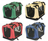 different color portable fabric dog travel box /pet carrier