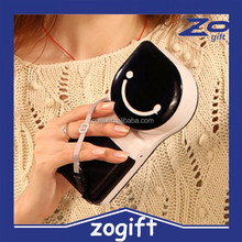 ZOGIFT Smile Face Mini USB Cooler Fan Water Spray Battery Fan Wholesale Handheld Electric Fan