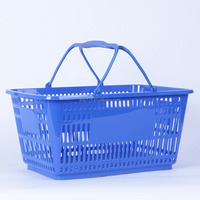 Cheap price wholesale hanging plastic baskets for supermarket