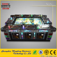 Newest software fish hunter fishing electrical game machine/ Dragon hunter game kits from WANGODNG