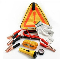 Car Emergency Tool Kit With 250psiauto Compressor
