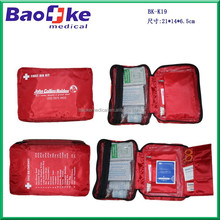 Outdoor Travel First Aid kit Nylon Bag Mini Car First Aid kit bag Home Small Medical Bag Emergency Survival kit