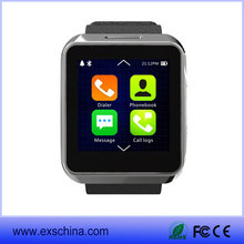 2015 New Arrival MTK2502 Android Smart Watch with heartrate monitor and wifi Bluetooth Smartwatch