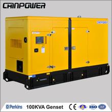 100kva Perkins diesel portable generator set