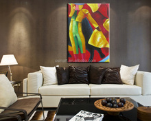 Handmade oil paintings bullfighting Oil painting on Canvas wall picture for living room Wall Art wall paintings picture art