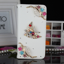 Bling diamond mobile phone cover case (3D shining fish pattern)