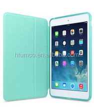 Newly design stand PU shell,Ultra Slim case,Air Frame shell for Apple iPad Mini Retina