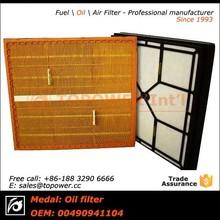 Filtro de ar cortador de grama / todos os tipos elemento do filtro de ar assy
