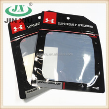 60 micron black sweatband antistatic packaging bag for heatgear