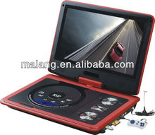2014 9 inch popular portable dvd player with best price