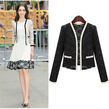 2014 new lace jacket,women's outerwear
