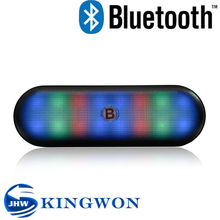 Kingwon 2015 new flashed light V3188 wireless mini bluetooth portable amplified speaker
