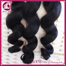 Top quality best selling human hair peruvian hair wholesale loose wave hair weave