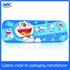 Student cartoon pencil box industrial use metal pencil case tin pencil case