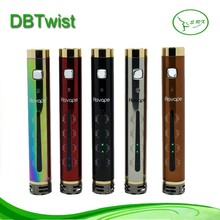 New arrival db twist with five colors and LED light VV DB twist 1000 amh battery