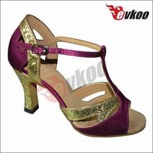 Professional leather shoe straps manufacturer practice dance shoes