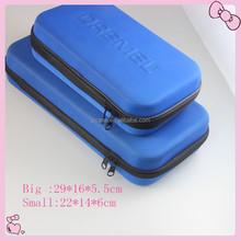 Custom logo hard plastic carrying case portable design package case hard disk plastic case