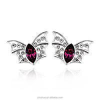 Ebay europe all product,925 silver crystal stud earrings