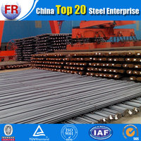 Steel rebar 32mm in construction
