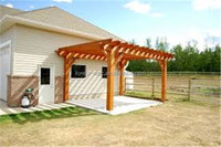 3m x 3m x 2.8m frstech wpc pergola for wedding decoration wooden pergola for garden decoration