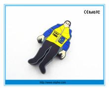 China factory promotion oem illuminated with gift box iron man usb flash drive