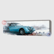 Modern old-fashioned car bedroom decoration canvas painting