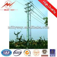 power steel poles,steel utility poles utility galvanized steel poles