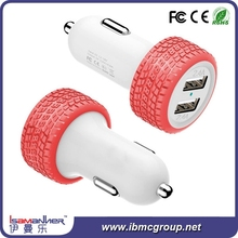 Shenzhen factory price promotional dual port car charger usb, Custom usb car charger 2 port